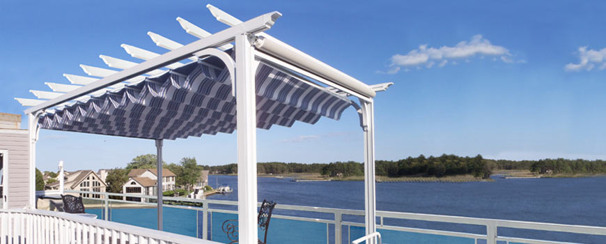 retractable awnings and window awnings holly hill pool
