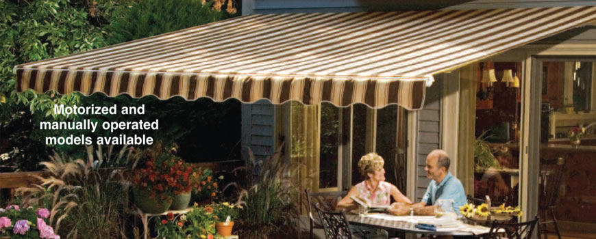 Sunsetter Awnings Professional Installation Available